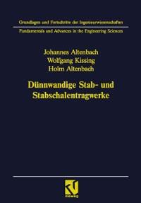Cover Dunnwandige Stab- und Stabschalentragwerke