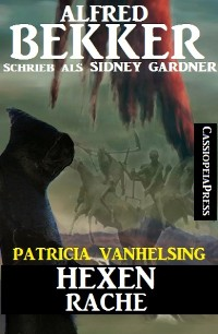 Cover Patricia Vanhelsing: Hexenrache