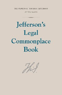 Cover Jefferson's Legal Commonplace Book