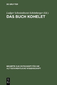 Cover Das Buch Kohelet