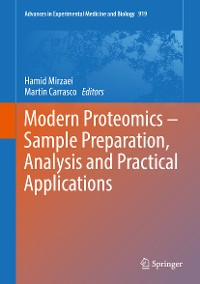 Cover Modern Proteomics – Sample Preparation, Analysis and Practical Applications