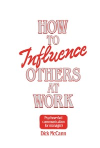 Cover How to Influence Others at Work