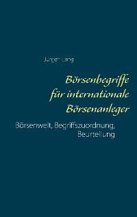 Cover Börsenbegriffe für internationale Börsenanleger