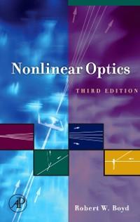Cover Nonlinear Optics