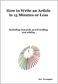 Cover How To Write An Article In 15 Minutes Or Less