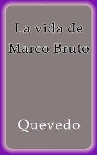 Cover La vida de Marco Bruto