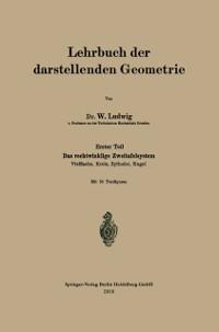 Cover Lehrbuch der darstellenden Geometrie