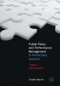 Cover Public Policy and Performance Management in Democratic Systems