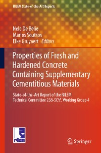 Cover Properties of Fresh and Hardened Concrete Containing Supplementary Cementitious Materials