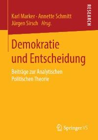 Cover Demokratie und Entscheidung