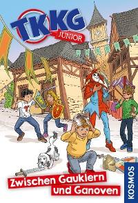 Cover TKKG Junior, 6, Zwischen Gauklern und Ganoven