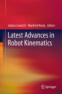 Cover Latest Advances in Robot Kinematics