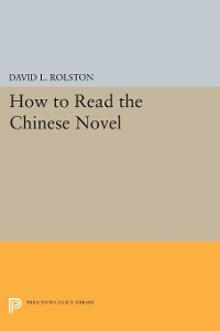 Cover How to Read the Chinese Novel