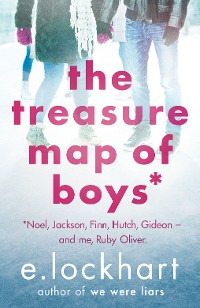 Cover Ruby Oliver 3: The Treasure Map of Boys