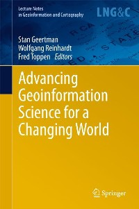 Cover Advancing Geoinformation Science for a Changing World