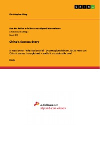 Cover China's Success Story