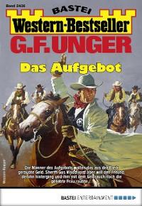 Cover G. F. Unger Western-Bestseller 2436 - Western