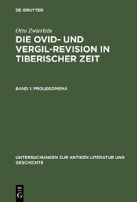 Cover Prolegomena