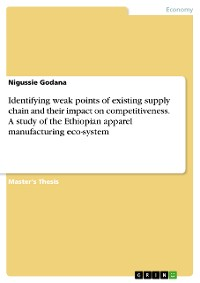 Cover Identifying weak points of existing supply chain and their impact on competitiveness. A study of the Ethiopian apparel manufacturing eco-system