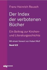 Cover Der Index der verbotenen Bücher. Bd.2/2