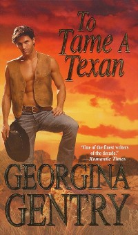 Cover To Tame A Texan