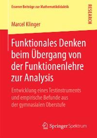 Cover Funktionales Denken beim Übergang von der Funktionenlehre zur Analysis