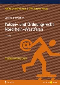 Cover Polizei- und Ordnungsrecht Nordrhein-Westfalen