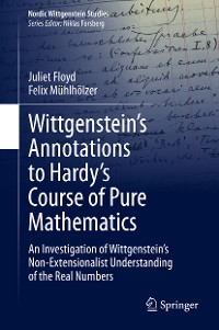Cover Wittgenstein's Annotations to Hardy's Course of Pure Mathematics