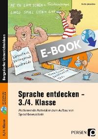 Cover Sprache entdecken - 3./4. Klasse