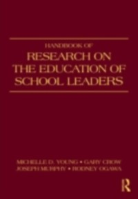 Cover Handbook of Research on the Education of School Leaders