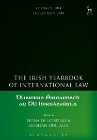Cover Irish Yearbook of International Law, Volume 9, 2014