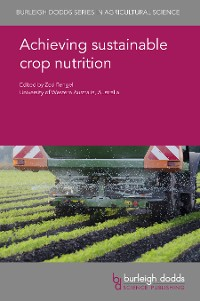 Cover Achieving sustainable crop nutrition