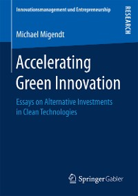 Cover Accelerating Green Innovation