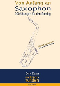 Cover Saxophon von Anfang an