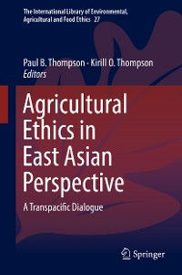 Cover Agricultural Ethics in East Asian Perspective