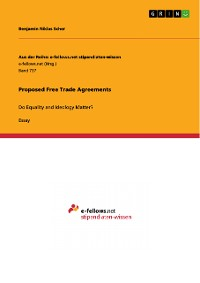 Cover Proposed Free Trade Agreements