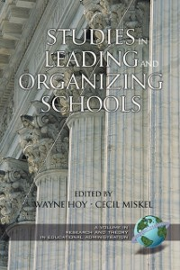 Cover Studies in Leading and Organizing Schools