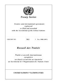 Cover Treaty Series 2925/Recueil des Traités 2925