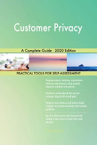 Cover Customer Privacy A Complete Guide - 2020 Edition