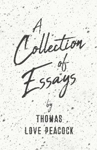 Cover A Collection of Essays