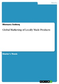 Cover Global Marketing of Locally Made Products