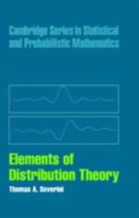 Cover Elements of Distribution Theory