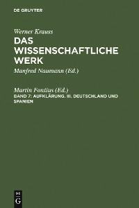 Cover Deutschland und Spanien