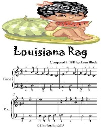 Cover Louisiana Rag - Easiest Piano Sheet Music Junior Edition