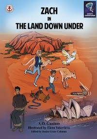 Cover Zach in The Land Down Under