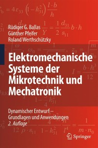 Cover Elektromechanische Systeme der Mikrotechnik und Mechatronik