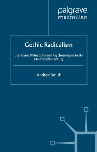 Cover Gothic Radicalism