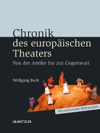 Cover Chronik des europäischen Theaters