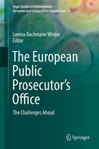 Cover The European Public Prosecutor's Office