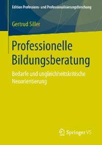 Cover Professionelle Bildungsberatung